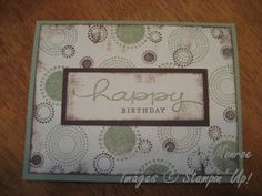 stampin up seeing spots - Google Search