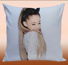 Ariana Grande Pillow Case by kingdompillow on Etsy