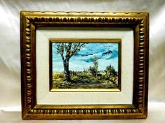 S. Gruber artist info View sold price and similar items: Mid-20th S. Gruber Oil Painting On Board Panel from Artbay's on May 6, 0118 10:00 AM PDT. Oil Paint On Wood, Painting On Wood, Vintage Art Prints, Frame It, Wood Paneling, American Artists, Wooden Frames, Auction, Landscape
