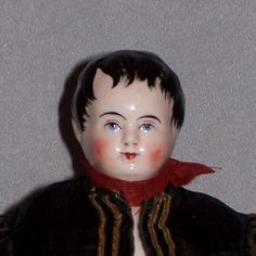 FARAWAY ANTIQUE SHOP on Ruby Lane http://www.rubylane.com/item/359459-823/12x22-China-Boy-Wispy-Hair-Antique #antiquedoll #chinadoll