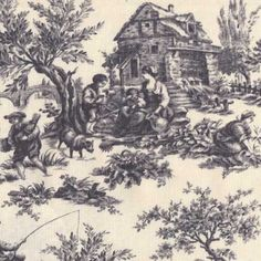 Anna Griffin Jolie Driftwood Pastoral Toile Hancocks 4,99