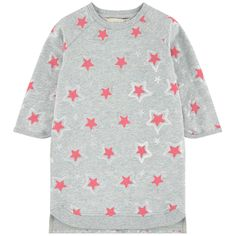 Organic cotton fleece Pleasant to the touch Soft lining Straight fit Crew neck Raglan long sleeves Slit pockets Ribbed knit trims Mottled effect Star print Randomly placed patterns - $ 110