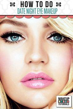 Date Night Eye Makeup | Eye Makeup For Hazel Eyes at Makeup Tutorials. | #makeuptutorials | makeuptutorials.com