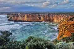 It's been a while since I posted a TRAVEL NOSTALGIA pic. This is a view of tempestuous seas somewhere near the end of the Great Ocean Road in Victoria Australia  #Australia #greatoceanroad #southernocean #nature #naturelovers #view #water #view #vista #pogled #avstralia by medved_cascadia