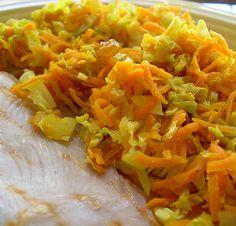 Receita: Legumes salteados com caril