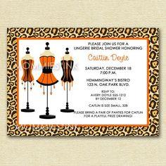 54 best leopard bridal shower images on pinterest animal prints lingerie shower filmwisefo