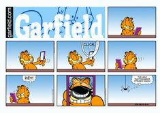Garfield & Friends | The Garfield Daily Comic Strip for August 10th, 2014