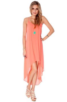 Sweet Breeze Dress in Sour Candy $56 at www.tobi.com I want this for recruitment!
