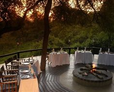 Meals in the African bush become a life altering experience