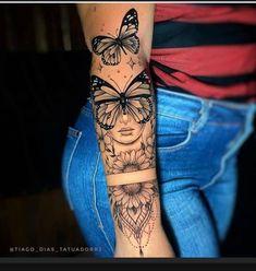 Mommy Tattoos, Baby Tattoos, Girly Tattoos, Friend Tattoos, Pretty Tattoos, Classy Tattoos For Women, Black Girls With Tattoos, Sleeve Tattoos For Women, Half Sleeve Tattoos Forearm