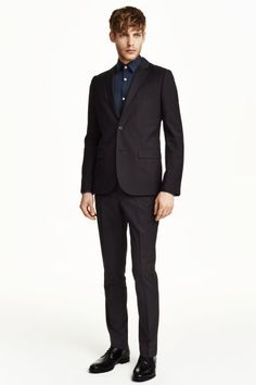 Spodnie garniturowe Slim fit | H&M