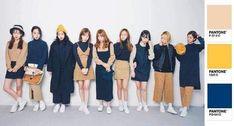 Fall matching outfit : navy and beige Matching Outfits Best Friend, Matching Friend, Best Friend Outfits, Couple Outfits, Dance Outfits, Couple Clothes, Korean Street Fashion, Korea Fashion, Asian Fashion