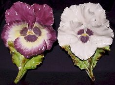Would like to have these.  Pansy wall pockets