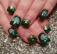 Saint Patrick's Day nail design