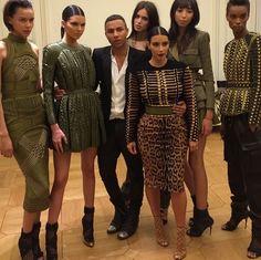 9 July 2014. Kendall, Kim and Olivier heading to Vogue Paris Foundation Dinner. #kardashian #kardashians #jenner #paparazzi #kim #kourtney #khloe #kris #kendall #kylie #bruce #rob #kanye #west #scoot #disick #mason #penelope