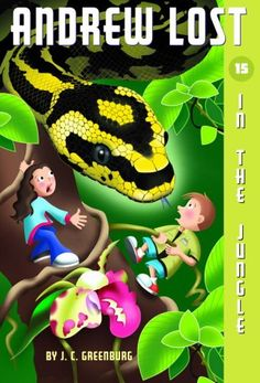 Download Andrew Lost #15: In the Jungle (A Stepping Stone Book(TM)) ebook free by J.C. Greenburg in pdf/epub/mobi