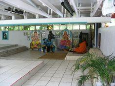 Sivananda Ashram Yoga Retreat: The outdoor temple