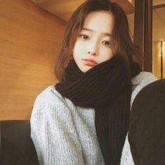 hear me now + jimin ✓ Korean Ulzzang, Ulzzang Girl, Cute Korean, Korean Girl, Cute Asian Girls, Cute Girls, Park Hyung Seok, Hwa Min, Korean Short Hair
