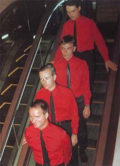 Kraftwerk, The Man-Machine era, Japan, 1981.