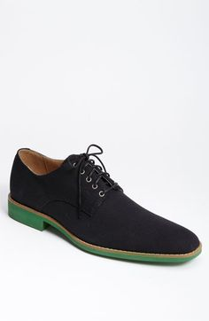 Green sole shoes