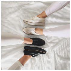 Derbies Femme blanches et grises Buzzao disponibles du 36 au 41 sur www.buzzao.com