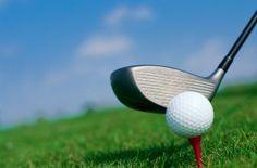 """Papa is geslaagd voor zijn golf vaardigheid. Ivo vraagt aan zijn vader: """"ben je geslaagd, deed het pijn"""""""