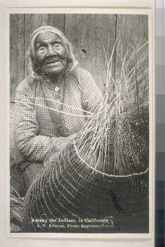 A Yurok woman. n.d.