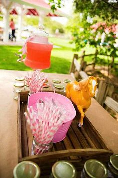 horse themed birthday party | Pony Themed 3rd Birthday Party - Kara's Party Ideas - The Place for ...