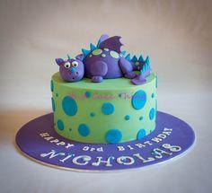 Nicholas' dragon by Its A Cake Thing (Jho), via Flickr