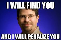 Lots of penalizing going on for bad #SEO practices