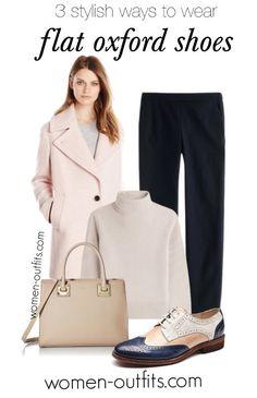 b1ce1c63ff4 3 stylish ways to wear flat oxford shoes this spring  oxfords   springfashion Oxfordky