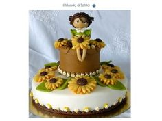 Sunflowers  Cake by ilmondoditema