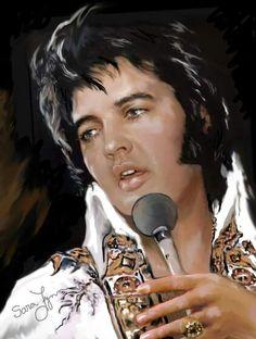 Elvis Presley...art.
