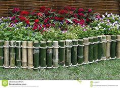 como fazer cerca de bambu para jardim - Pesquisa Google