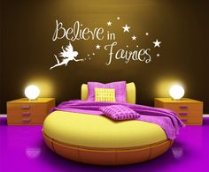 Hey, I found this really awesome Etsy listing at https://www.etsy.com/uk/listing/95946047/believe-in-fairies-matt-vinyl-wall-art
