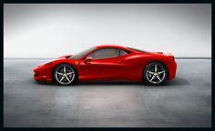 2014 Ferrari 458 Italia Concept Exterior Side View Wallpaper
