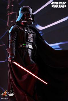 Darth Vader Armor, Vader Star Wars, Star Wars Toys, Star Wars Art, Light Up Lightsaber, Lightsaber Hilt, Coleccionables Sideshow, Death Star, Star Wars Episodes