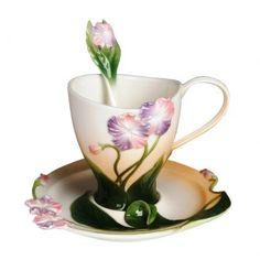 Franz Cup Saucer - Franz Porcelain Cup and Saucer