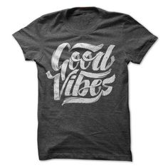 Good Vibes - Cool Feel Good Typographic T-Shirt Design - #band hoodie #sweatshirt tunic. OBTAIN => https://www.sunfrog.com/Music/Good-Vibes--Cool-Feel-Good-Typographic-T-Shirt-Design.html?68278