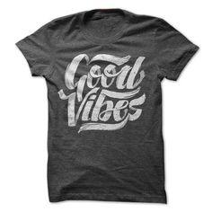 Good Vibes Cool Feel Good Typographic Shirt Design T Shirts, Hoodies. Get it now ==► https://www.sunfrog.com/Music/Good-Vibes--Cool-Feel-Good-Typographic-T-Shirt-Design.html?41382 $23