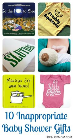 10 Slightly Inappropriate (But Still Awesome) Baby Shower Gifts