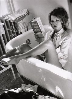 Kate Moss,Glen Cove, NY, for Italian Vogue, December 1995. Sante D'Orazio. Chromogenic print, flush-mounted on aluminium.