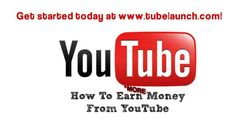 How to Make Money on YouTube with TubeLaunch: (Hint: Video Uploads): http://www.youtube.com/watch?v=LGntHsiWEOk