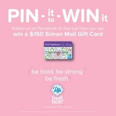 Puffs Fresh Faces Pin it to Win it Contest – Pinterest Required