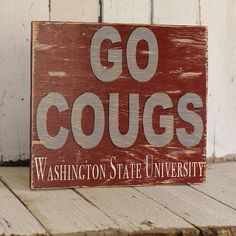 Traci L  College Sign distressed home decor by MannMadeDesigns4, ETSY