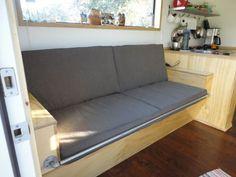 tiny house sofa - Google Search