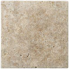 "Emser16"" x 16"" Fontane Walnut Travertine Tile (For My Kitchen)"