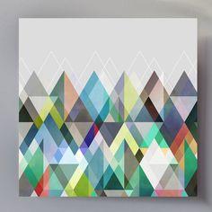 """""""Graphic 115"""" by Mareikle Boehmer as Dibond http://www.artefactum-shop.de/design-muster/mb05/"""