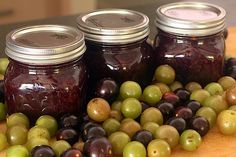 How to Make Muscadine Jam | Made + Remade I made this and followed the recipe as it is. If you love the flavor of muscadines or concord grapes, you will LOVE this recipe.