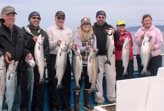 Trolling for Halibut and Salmon in Homer, Alaska.